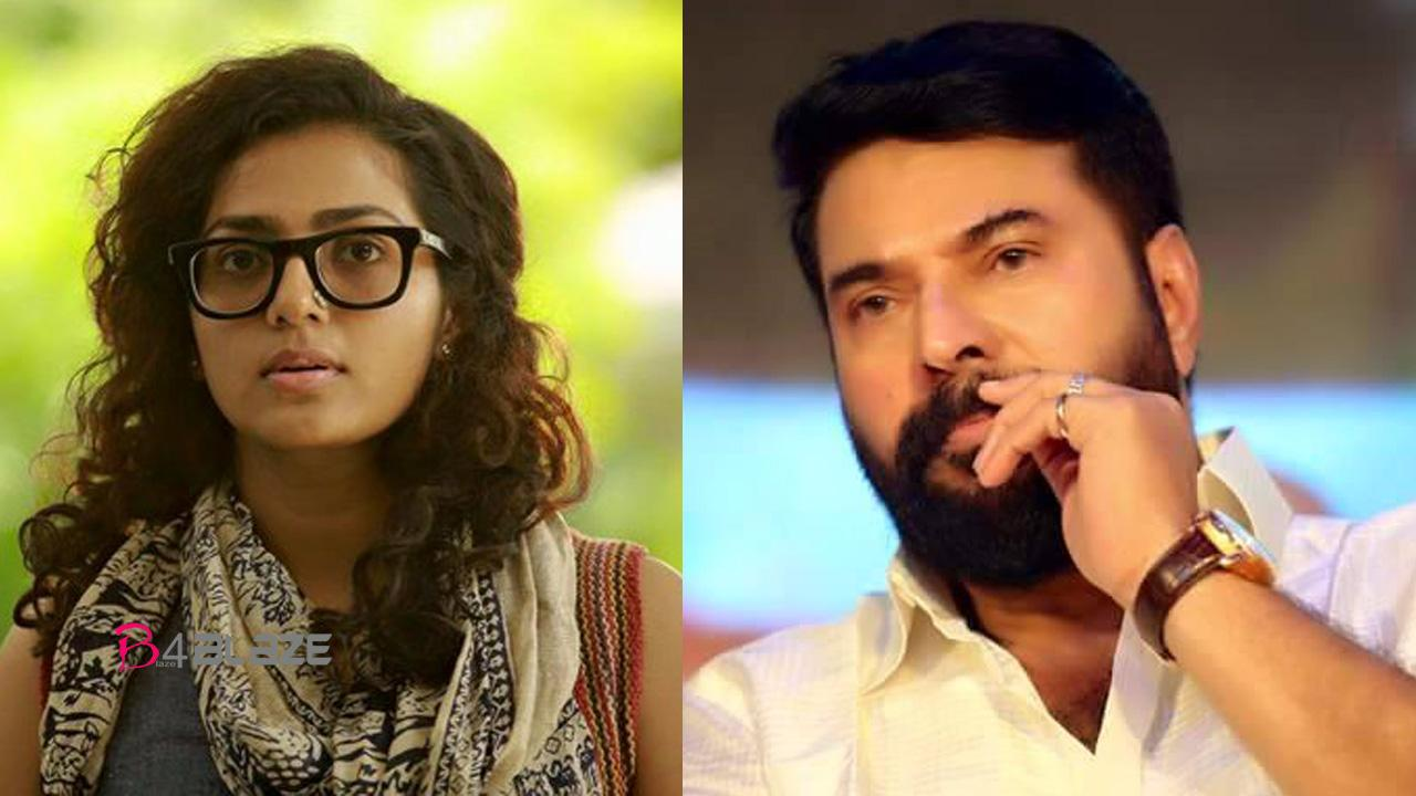 mammootti and parvathi