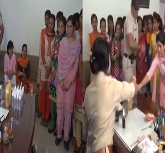 Lady IPS Officer Teach How to Make Chilli Pepper Spray