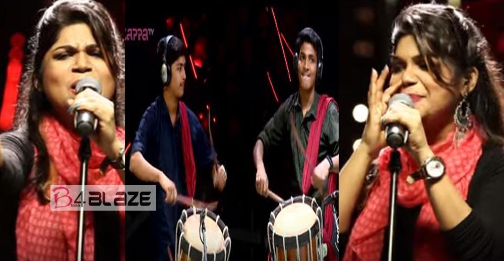 Anitha Shaiq's Chitta Chitta Kuruvi Folk Song