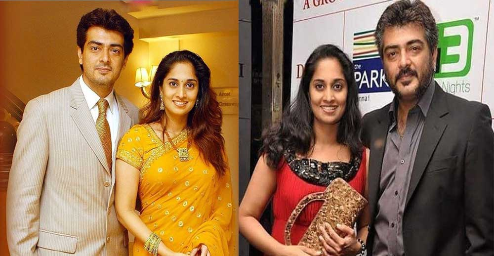 Ajith gives surprise to Shalini