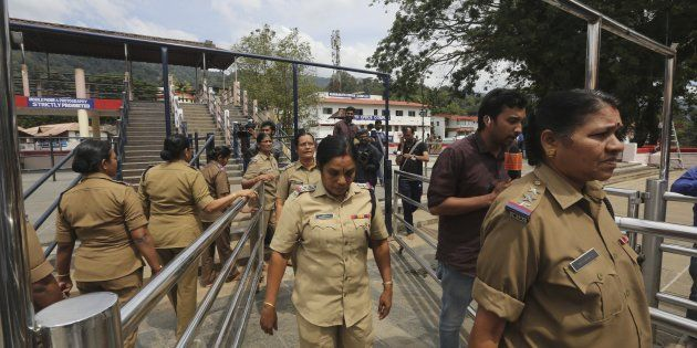 This time there is no women police for Sannidhanam, Striking Force to protest