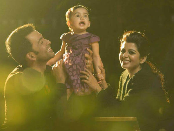 Prithviraj's daughter Alli, who plays the piano, said her daughter's growth was rapid