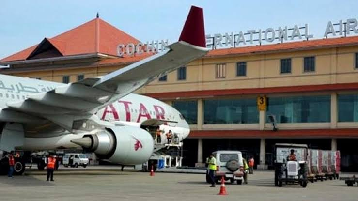 Daytime service at Nedumbassery airport canceled.