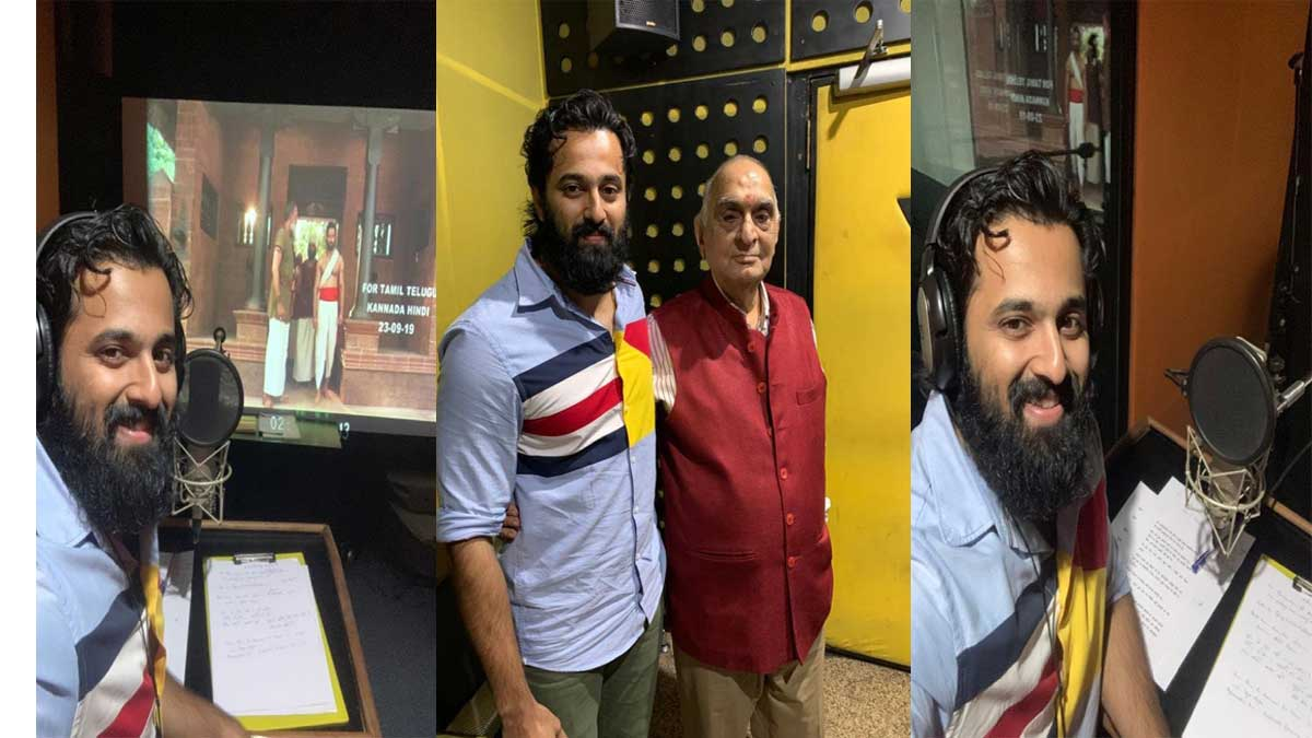 unni mukundan dubbed for the hindi version of mamankam the pictures are going viral