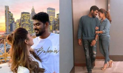 Nayanthara celebrates her birthday in New York