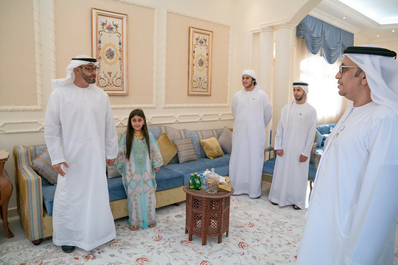 Prince Sheikh Mohammed arrived in search of Ayesha