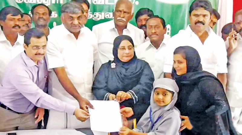 seven years old girl case against her father