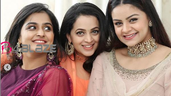 bhavana with friends photos