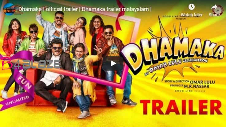 Dhamaka official trailer