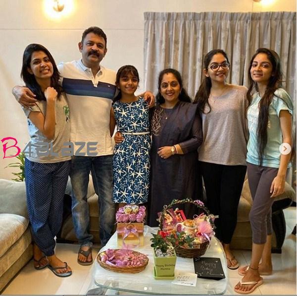 krishnakumar family
