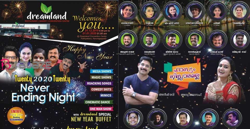 new year celebration in dreamland