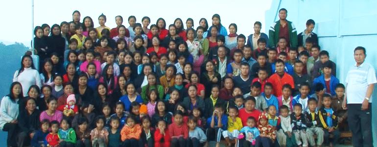 Ziona Chana with family