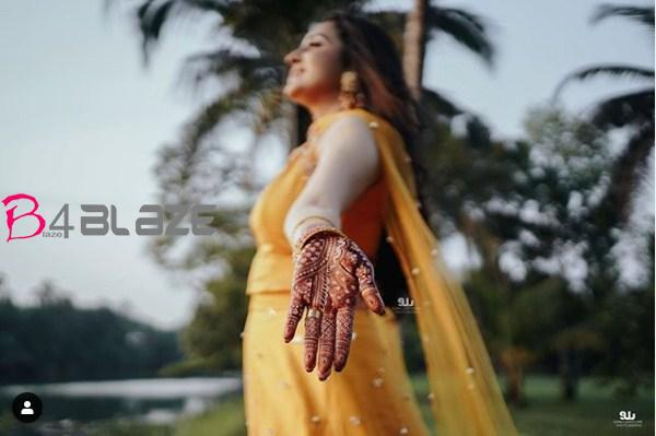 bhama haldi photos