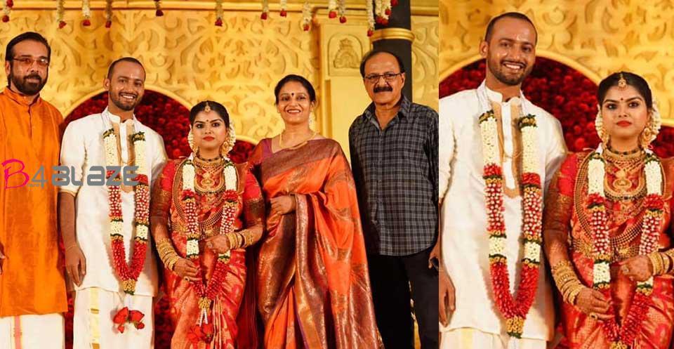karthika-son-wedding-photos
