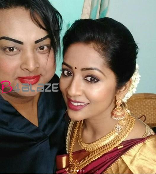 navya in saree latest