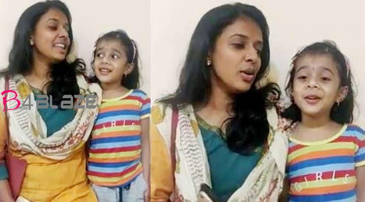 sithara with daughter