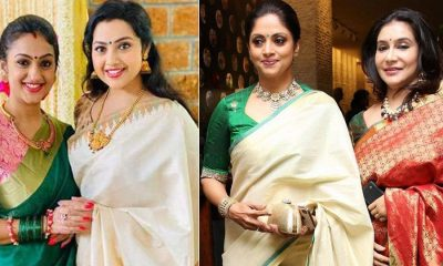 Celebrities at a Jayasudha's Son Marriage