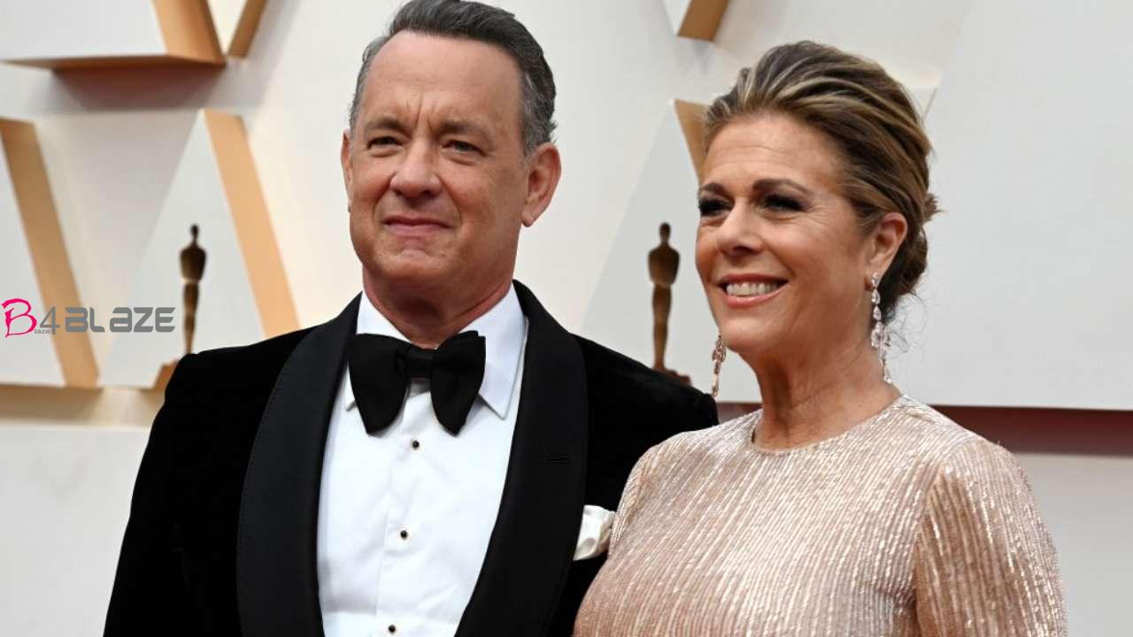 tom hanks with wife