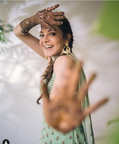 Kajal Aggarwal Wedding Mehandi