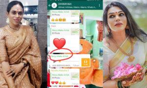 Seema Vineeth post about Renju