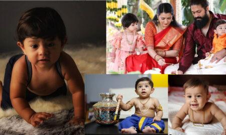 Yash celebrate his son birthday