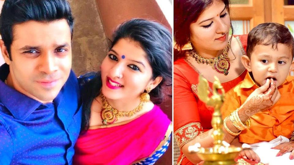 Aswathy Nair about husband
