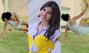 Samantha workout video