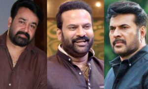 Tini Tom about Mohanlal and Mammootty