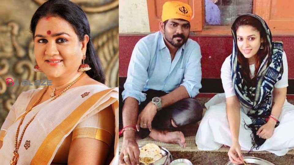 Urvashi about Nayanthara marriage