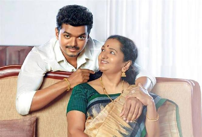 Vijay and Mother