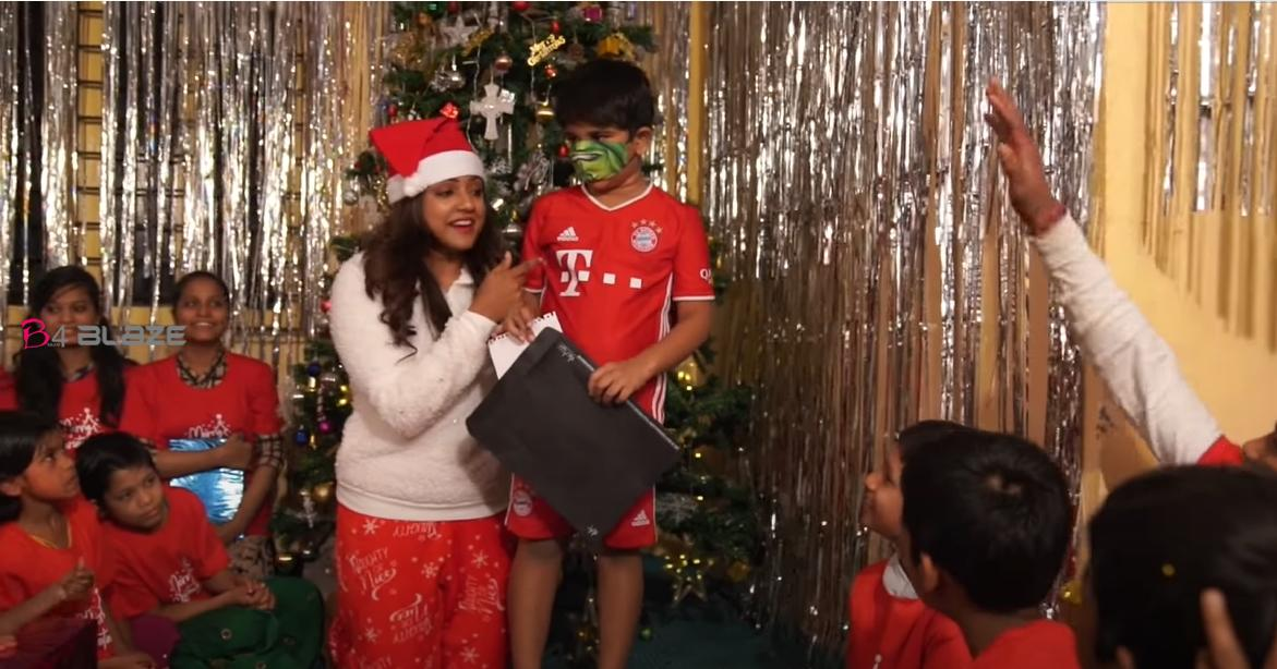 Allu Arjun, sends his son with a handful of presents to child fan