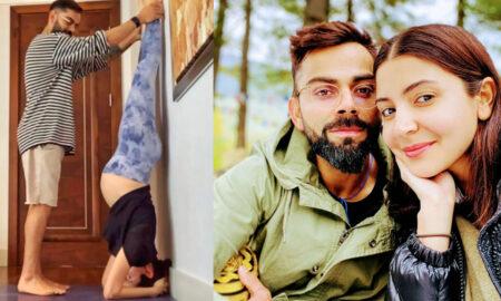 Doctor post against anushka's yoga
