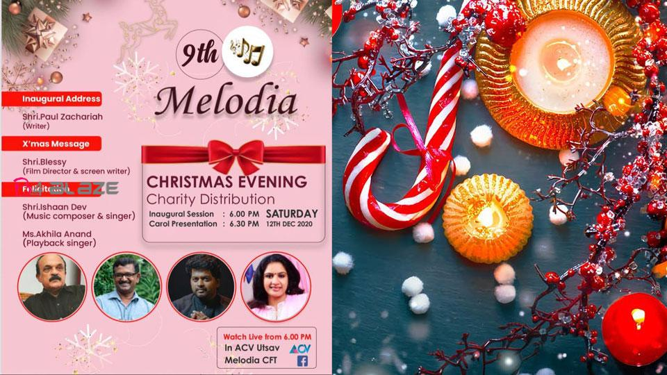 Melodia christmas celebration