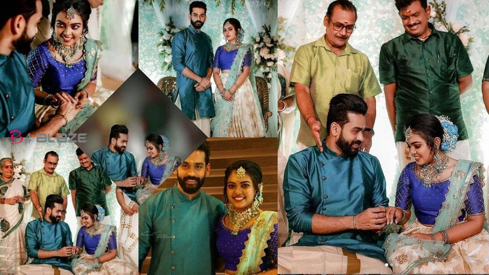 Mridula Vijayan Engagement Photos