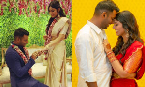 Vishal and Anisha Reddy marriage
