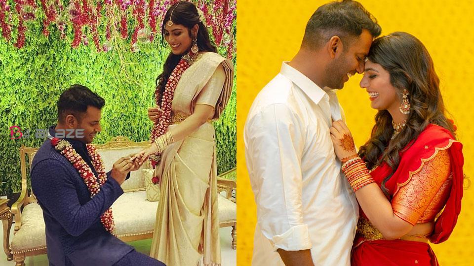 Vishal and Anisha Reddy marriage