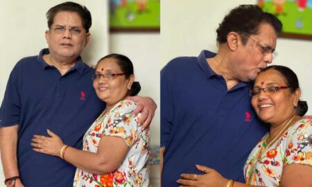 Jagathy Sreekumar new photo with wife