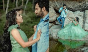 Noobin and Amrutha new photoshoot