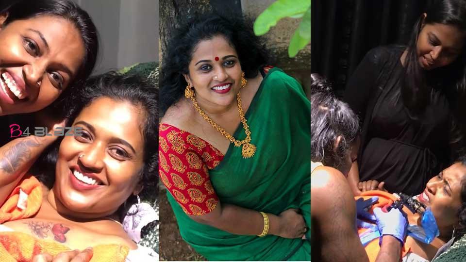 Manju pathrose about tattoo