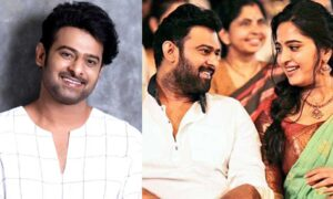 Prabhas new happiness