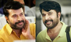 mammootty first salary