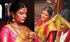 Aishwarya Rajesh in bridal look