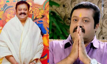 Suresh Gopi faces media