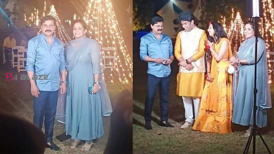 dileep and kavya in marriage ceremony