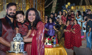kunchacko boban birthday party
