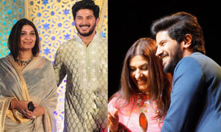 dulquer salmaan about mother