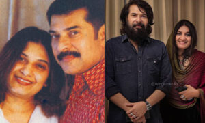 mammootty and sulfath wedding anniversary