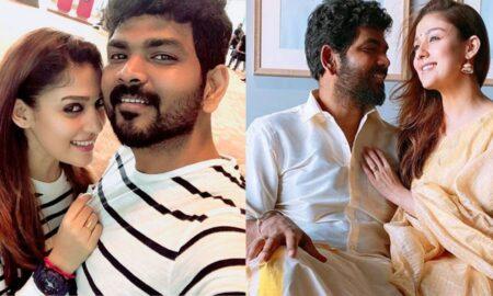 nayanthara vignesh romance photo