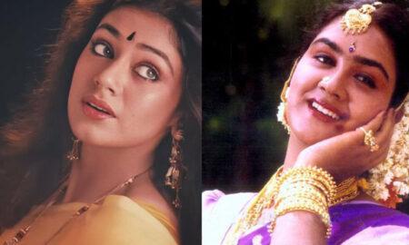 post about shobhana and urvashi